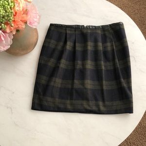 Gorgeous Green and Blue and Black Plaid Gap Skirt